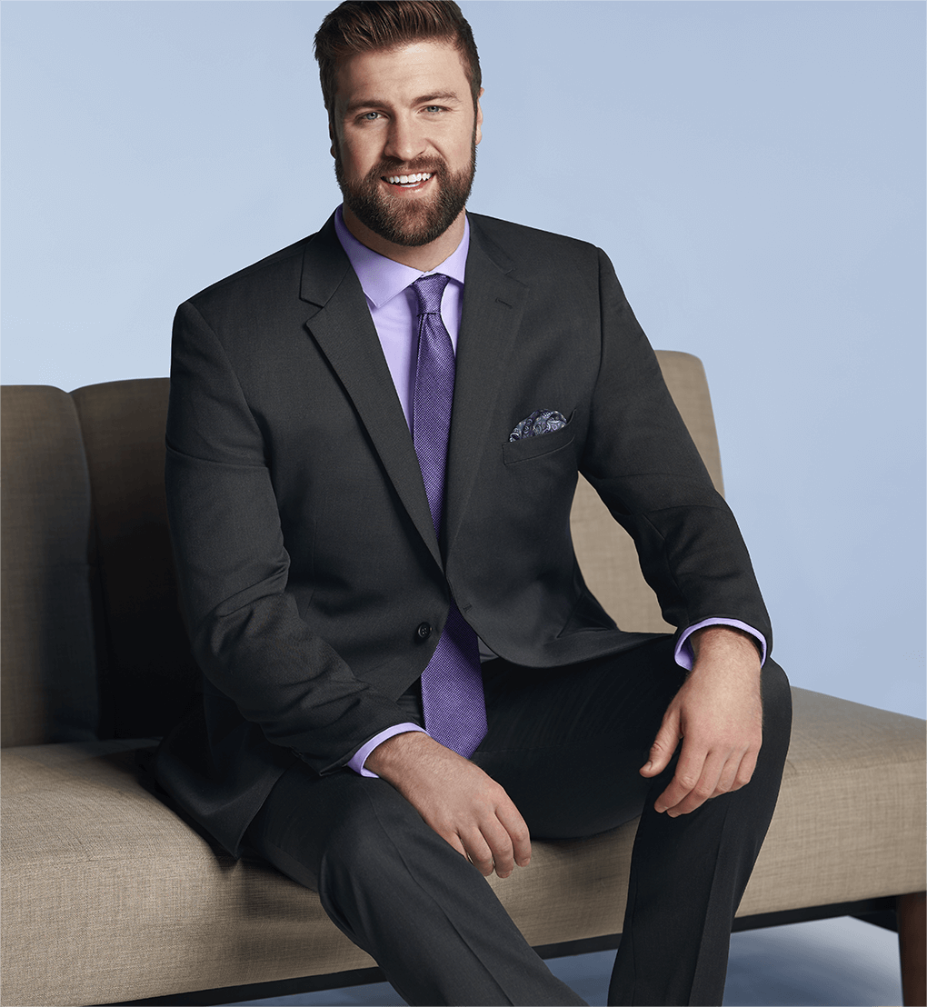 Big and Tall Men's Clothing - Big and Tall Suits, Dress Shirts & More
