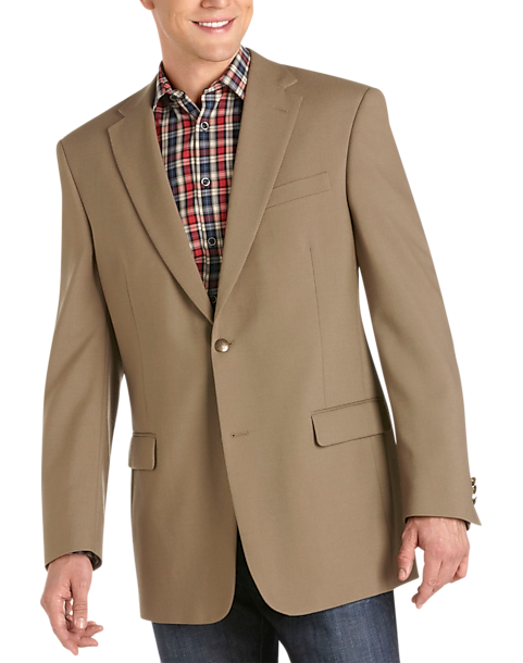 Austin Reed Tan Executive Fit Blazer Men S Sport Coats Men S Wearhouse
