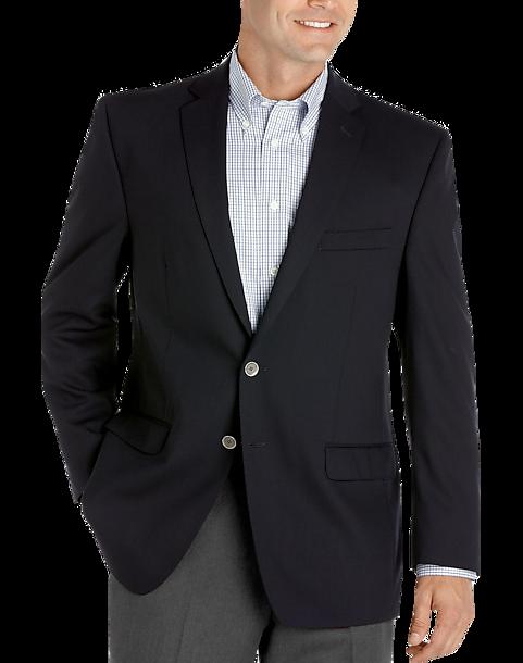 Calvin Klein Navy Slim Fit Blazer