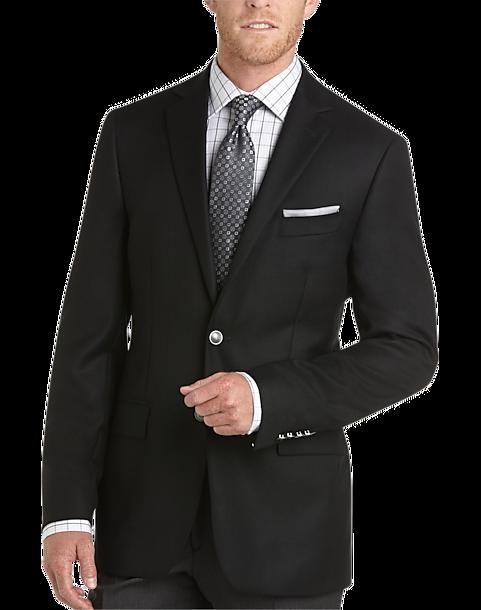 Joseph Abboud Black Modern Fit Blazer