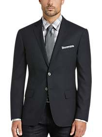 Mens Blazers, Sport Coats - JOE Joseph Abboud Navy Slim Fit Blazer - Men's Wearhouse