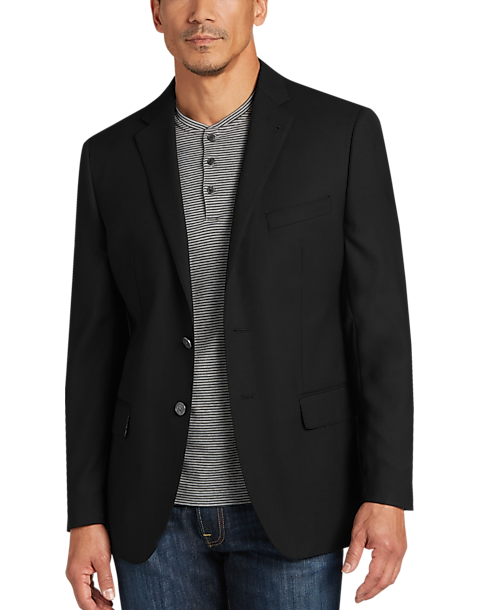 JOE Joseph Abboud Black Slim Fit Blazer