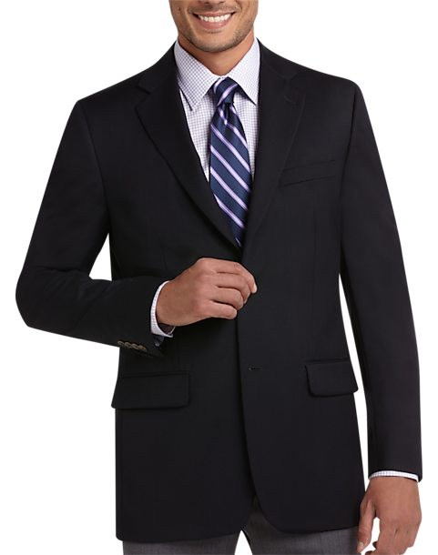 Joseph & Feiss Gold Executive Fit Blazer (Navy)