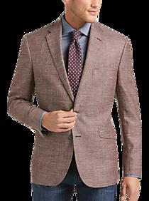 Mens Big & Tall, Sale - Joseph Abboud Limited Edition Rust Tic Modern Fit Sport Coat - Men's Wearhouse