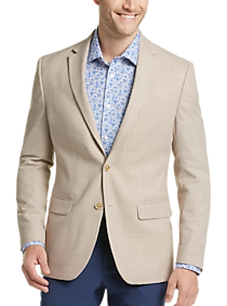 Mens Tommy Hilfiger, Sport Coats - Tommy Hilfiger Tan Modern Fit Sport Coat - Men's Wearhouse