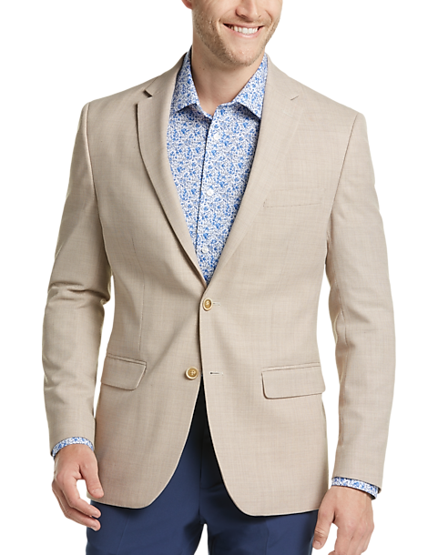 Tommy Hilfiger Tan Modern Fit Sport Coat