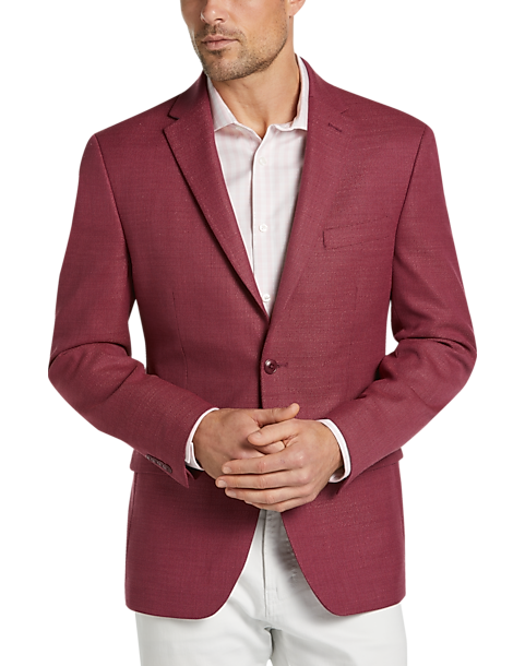 Tommy Hilfiger Red Modern Fit Sport Coat