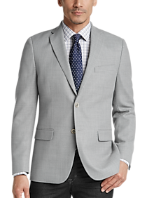Mens Sport Coats - Tommy Hilfiger Gray Tic Modern Fit Sport Coat - Men's Wearhouse