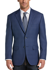 Pronto Uomo Platinum Modern Fit Sport Coat, Blue Plaid