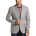 Joseph Abboud Gray Tic Casual Coat