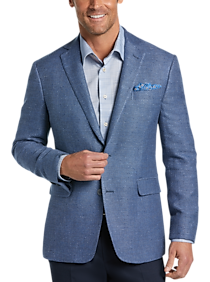 Mens Extra 30% Off Clearance, Clothing - Joseph Abboud Blue Woven Modern Fit Sport Coat - Men's Wearhouse