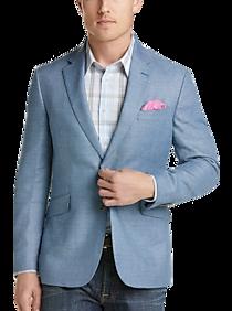 Mens Extra 30% Off Clearance, Sport Coats - JOE Joseph Abboud Sky Blue Slim Fit Sport Coat - Men's Wearhouse