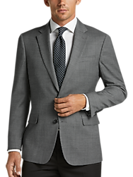 Awearness Kenneth Cole Charcoal Slim Fit Sport Coat