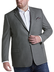 Pronto Uomo Platinum Executive Fit Sport Coat, Gray
