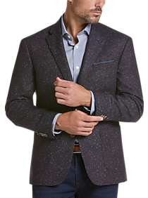 Mens Extra 30% Off Clearance, Clothing - JOE Joseph Abboud Brown Herringbone Slim Fit Sport Coat - Men's Wearhouse