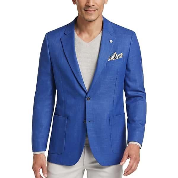 1960s Men's Clothing Nautica Mens Blue Modern Fit Sport Coat - Size 42 Long $99.99 AT vintagedancer.com