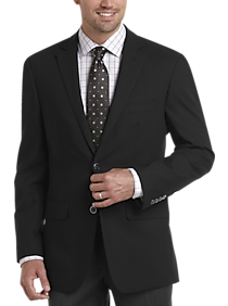 Mens Blazers, Sport Coats - Pronto Uomo Black Modern Fit Blazer - Men's Wearhouse