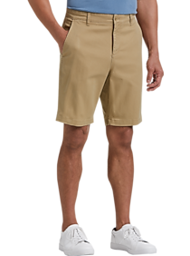 Mens Shorts, Pants - Joseph Abboud Tan Modern Fit Shorts - Men's Wearhouse
