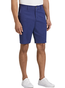 Mens Shorts, Pants - Joseph Abboud Medium Blue Modern Fit Shorts - Men's Wearhouse