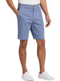 Mens Shorts, Pants - Joseph Abboud Blue Modern Fit Shorts - Men's Wearhouse