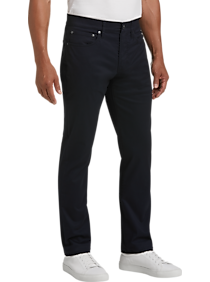 Mens Extra 30% Off Clearance, Clothing - Joseph Abboud Navy Slim Fit Casual Pants - Men's Wearhouse