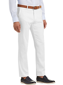 Tommy Hilfiger White Modern Fit Casual Pants