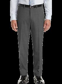 Mens $29.99 Dress & Casual Pants, Pants - Pronto Uomo Gray Modern Fit Dress Slacks - Men's Wearhouse