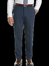 Mens $29.99 Dress & Casual Pants, Pants - Pronto Uomo Blue Modern Fit Dress Slacks - Men's Wearhouse