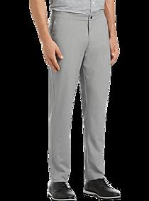 JOE Joseph Abboud Gray Melange Casual Pants