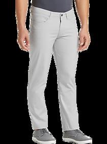 JOE Joseph Abboud Repreve® Stone Gray Slim Fit Casual Pants
