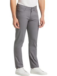 JOE Joseph Abboud Repreve® Light Gray Slim Fit