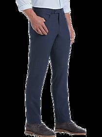 Mens Pants & Shorts, Big & Tall - JOE Joseph Abboud Medium Blue Slim Fit Dress Pants - Men's Wearhouse