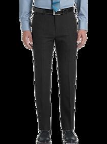 Mens Pants & Shorts, Big & Tall - JOE Joseph Abboud Dark Charcoal Slim Fit Dress Pants - Men's Wearhouse
