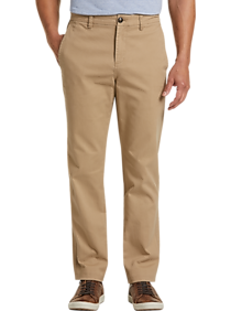 Mens Casual Pants & Jeans, Polished Casual - Joseph Abboud Tan Modern Fit Chino - Men's Wearhouse