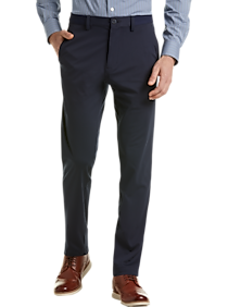 Haggar The Active Series Navy Slim Fit Tech Casual Pants