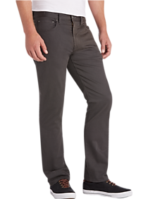 Joseph Abboud Charcoal Classic Fit Casual Pants