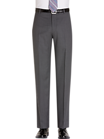 JOE Joseph Abboud Gray Modern Fit Dress Pants