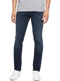 Mens Relaxed Fit, Jeans - Calvin Klein Jeans Mens Straight Fit Stretch Jeans - Men's Wearhouse