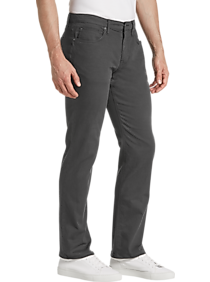 Mens Jeans, Sale - Joe's Jeans Brixton Charcoal Gray Slim Fit Twill Pants - Men's Wearhouse