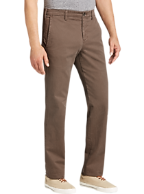 Mens Extra 30% Off Clearance, Clothing - Joseph Abboud Dark Taupe Modern Fit Chinos - Men's Wearhouse