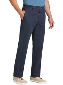 Joseph Abboud Navy Modern Fit Chinos