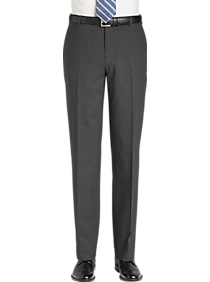 JOE Joseph Abboud Charcoal Slim Fit Dress Pants