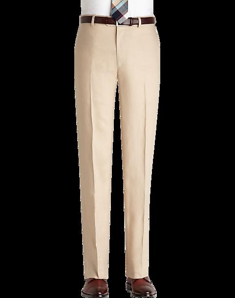 Pronto Uomo Platinum Modern Fit Linen Suit Separates Dress Pant