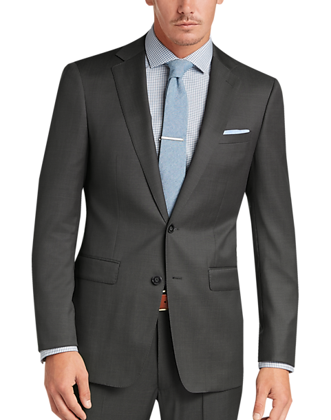 "New Skinny Fit Black 2 Piece Suit Chest 44/"" Waist 38/"" REGULAR Work Formal Simple"