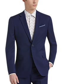 Mens Suits - Egara Orange Blue Extreme Slim Fit Suit - Men's Wearhouse