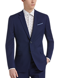 Egara Orange Blue Extreme Slim Fit Suit