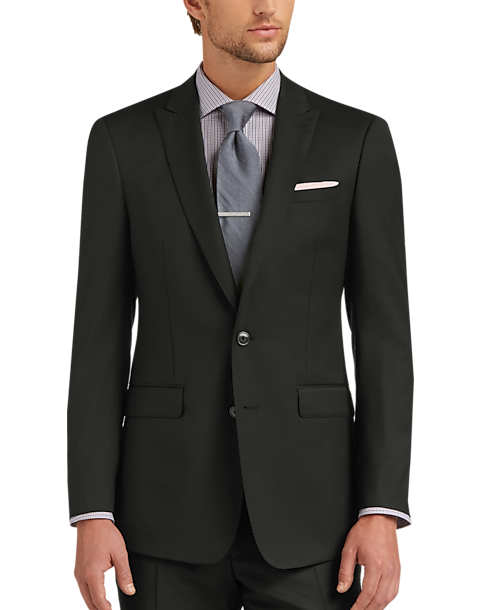 Calvin Klein X-Fit Black Slim Fit Suit