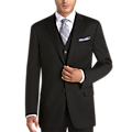Joseph Abboud Black Modern Fit Suit Separates Coat