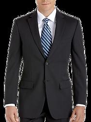 Pronto Uomo Platinum Executive Suit Separates Coat, Black