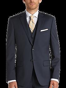 Mens Clearance, Big & Tall - Joseph Abboud Blue Slim Fit Suit Separates Coat - Men's Wearhouse